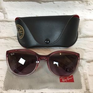 Ray-Ban Red Sunglasses with case RB 4167 849/14 3N
